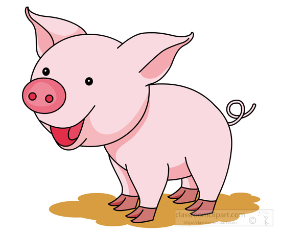 Pig clipart Free pink Clipart Pictures Graphics