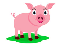 Pig clipart muddy pig Clipart Pink Art Pictures Pig
