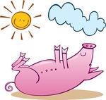 Pig clipart dead pig Dead Pig  Clipart