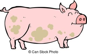 Pig clipart muddy pig Muddy free 603  Muddy