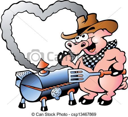 Pig clipart pig bbq Pig Art BBQ Pig making