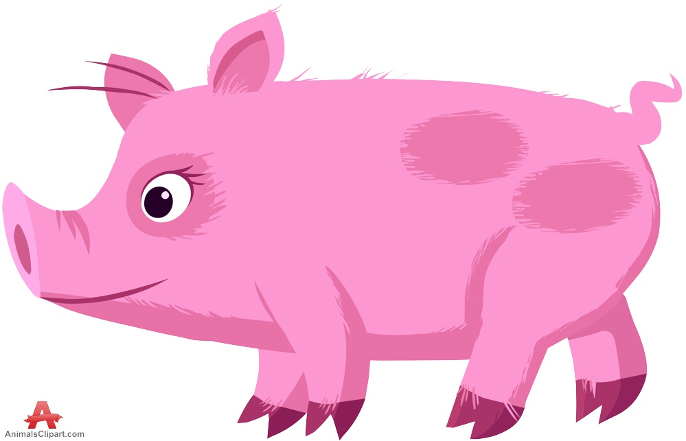 Pork clipart pink pig Little of with Pig the