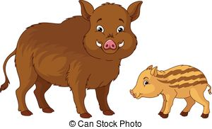 Boar clipart wild boar Boar Graphics 483 boar cub