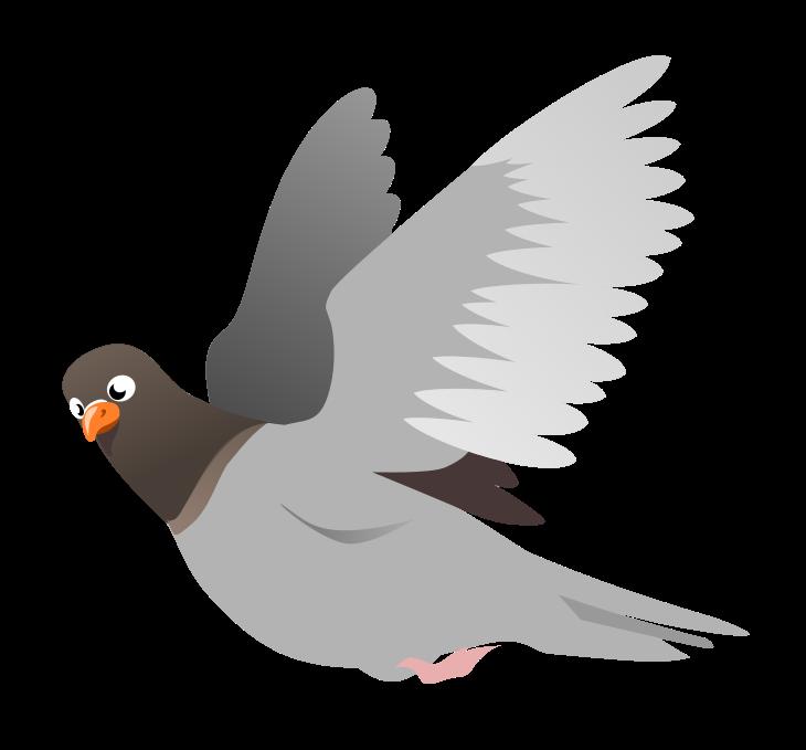 Pigeon clipart Domain Clip Free Public Art
