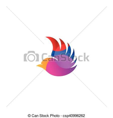 Pigeon clipart air animal Flying of Clip Isolated logo