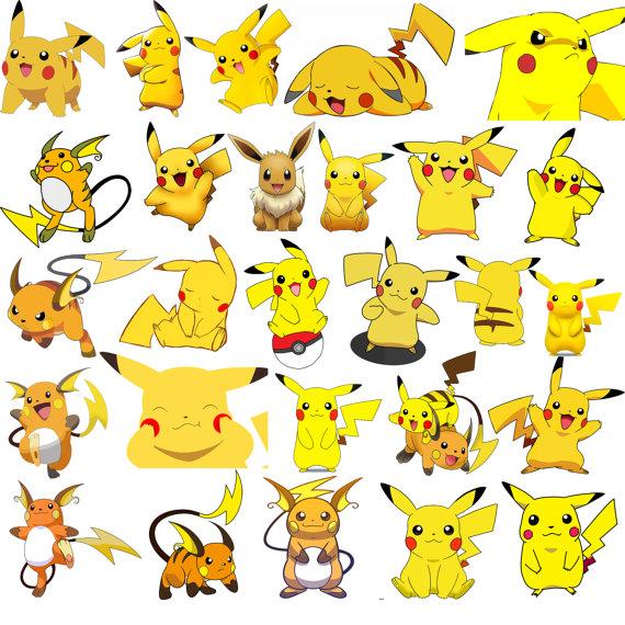 Pikachu clipart Raichu Pokemon 27 Raichu Clipart