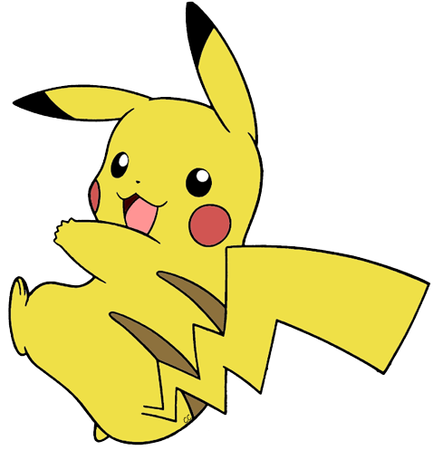 Pikachu clipart Art Images  Pikachu Pikachu