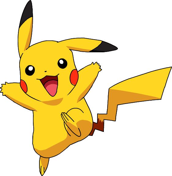 Pikachu clipart cartoon 97 images Pinterest on pikachu