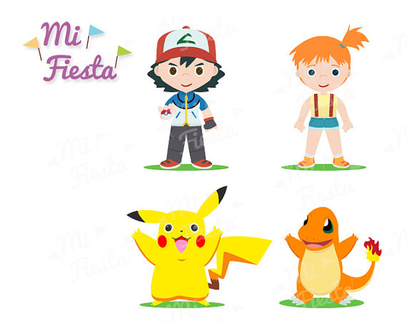 Pikachu clipart charmander And Download by Pokemon Ash
