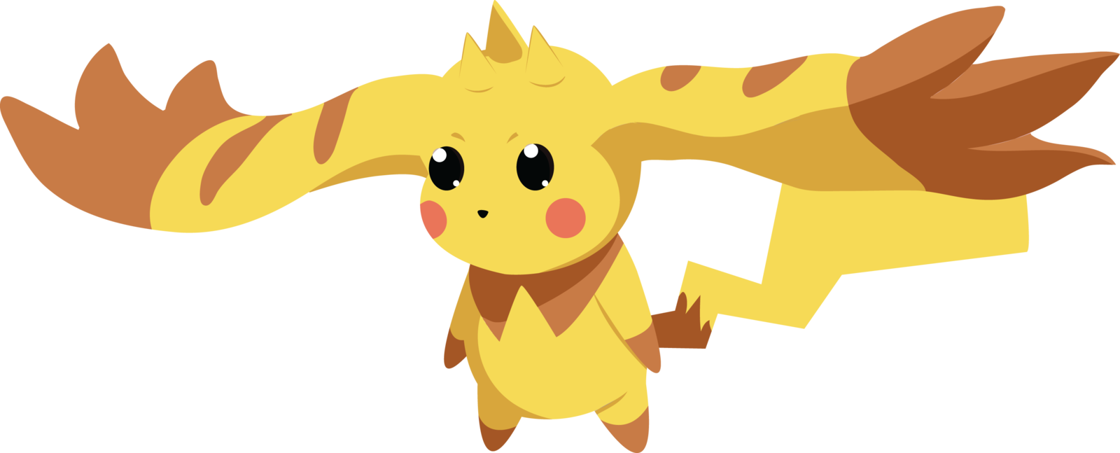 Pikachu clipart digimon Lopmon by Lopmon on DeviantArt