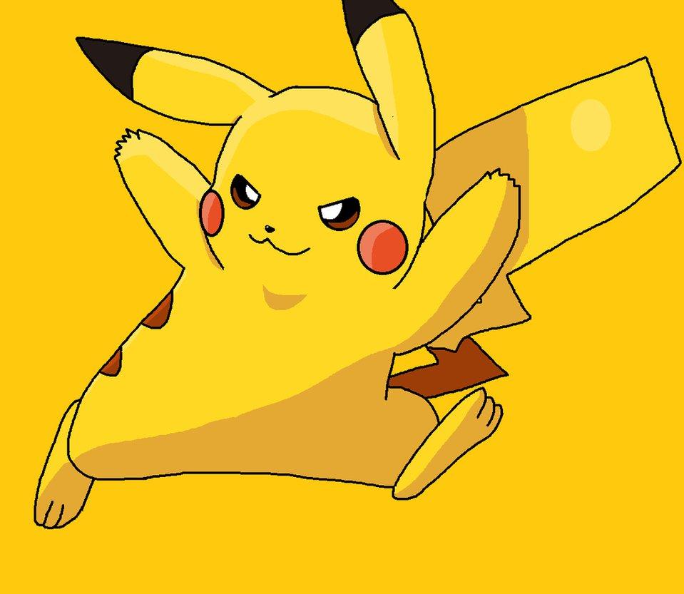 Pikachu clipart electric #5