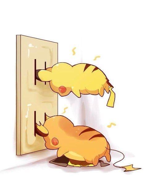 Pikachu clipart electric #11