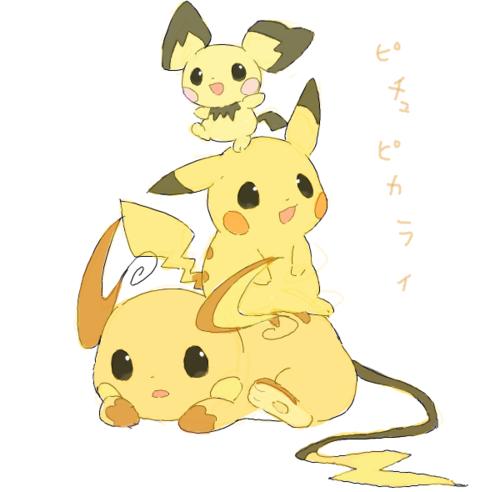Pikachu clipart female nerd // Pichu and Other Pichu