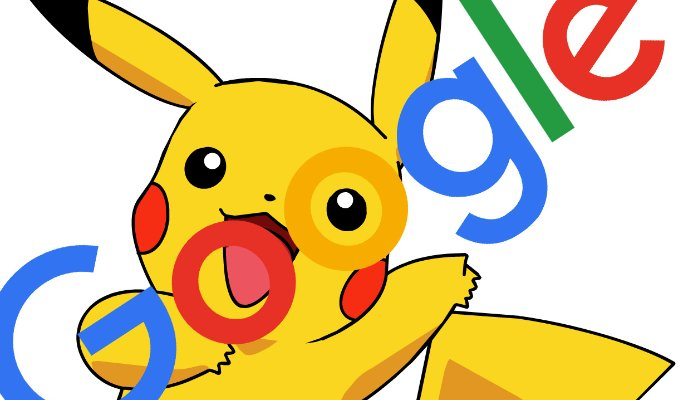 Pikachu clipart google You) Google it's on at