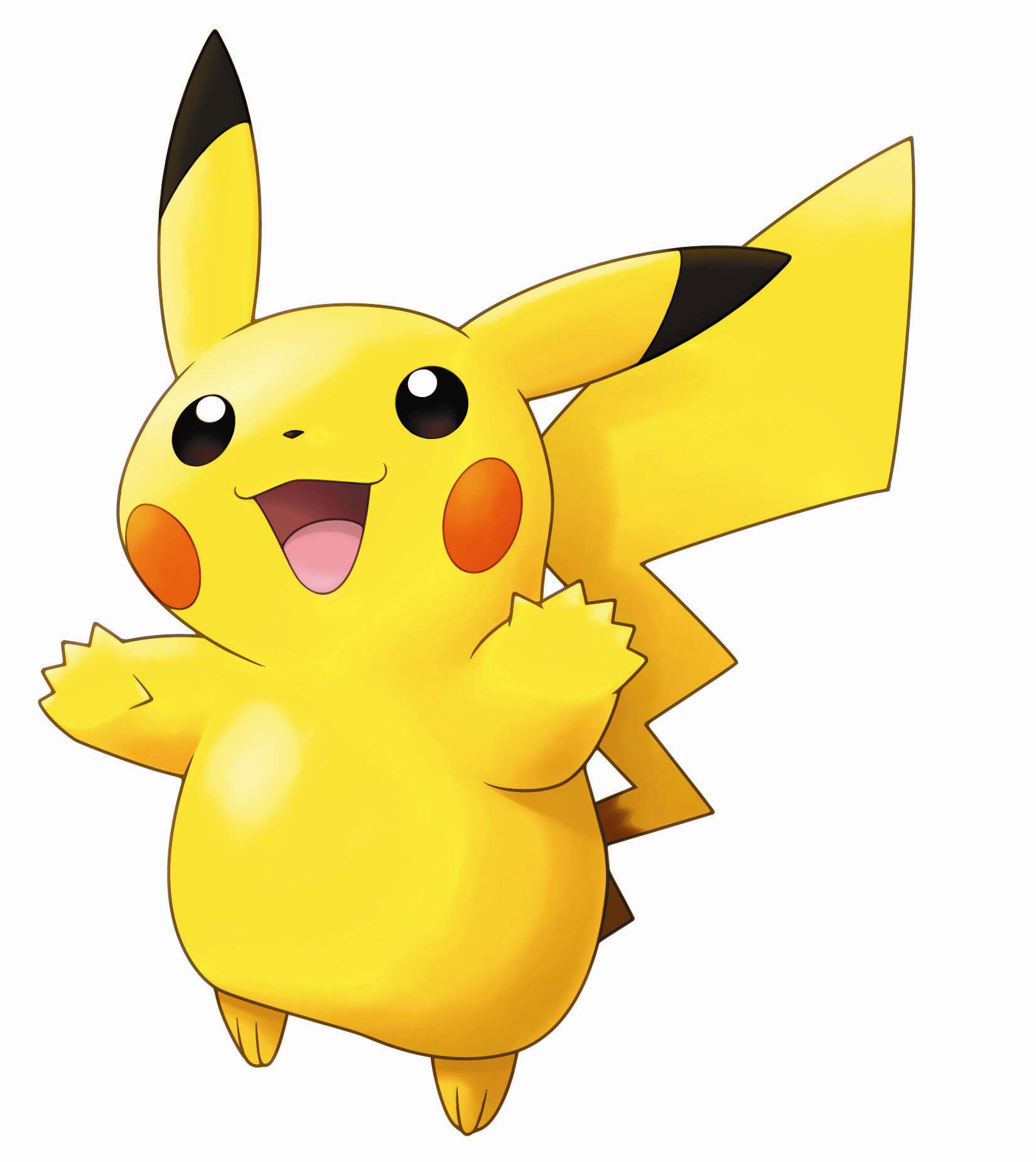 Pikachu clipart original pokemon Pikachu screenshots and pictures