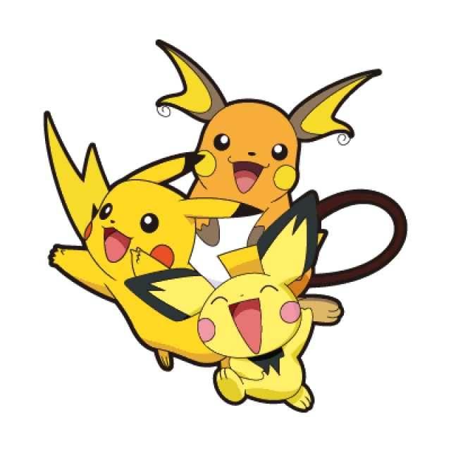 Pikachu clipart pokemon pichu Noch Erkunde pichu raichu und