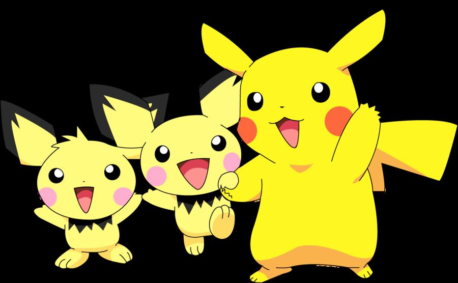 Pikachu clipart pokemon pichu Kallen10 Illustrator and Pikachu by