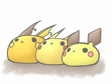 Pikachu clipart pokemon pichu ;) on on Find Pinterest