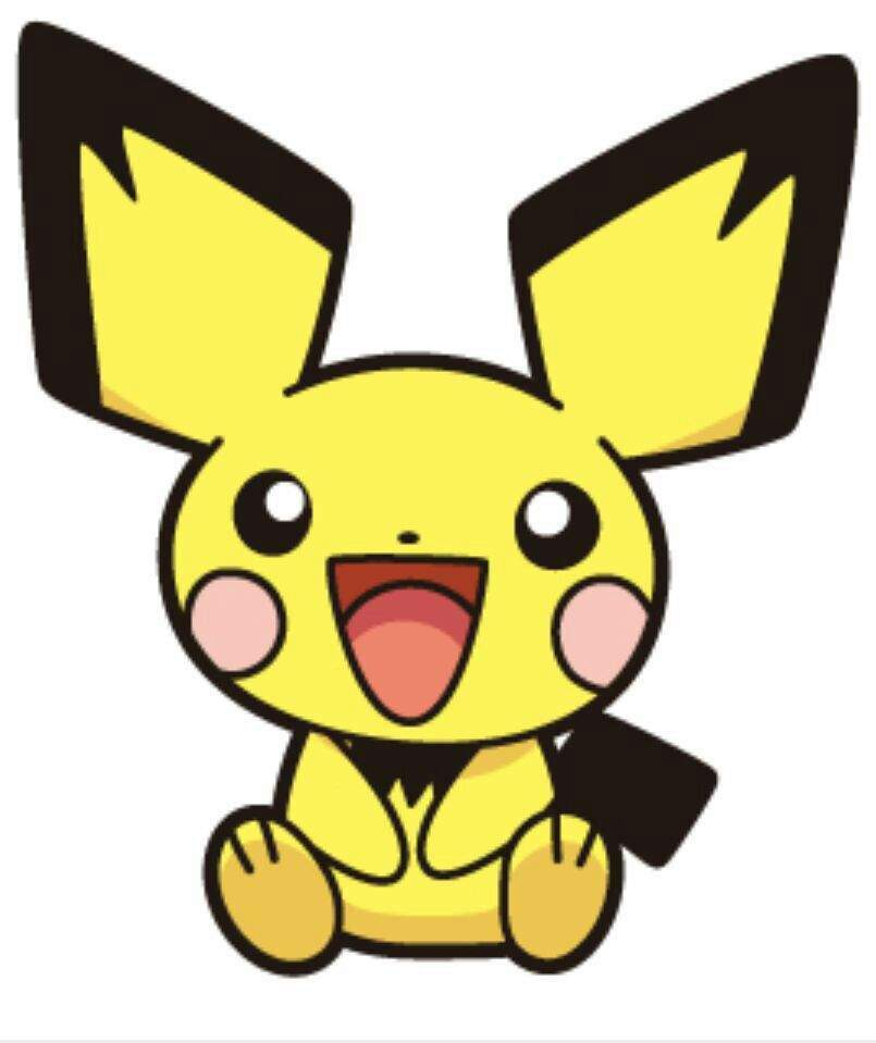 Pikachu clipart pokemon pichu Is Pikachu I cute??? Who