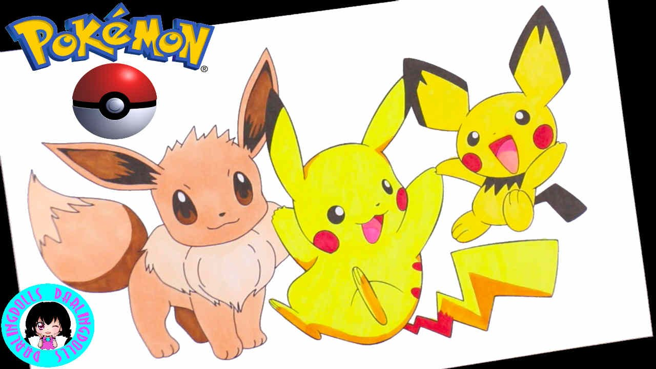 Pikachu clipart pokemon pichu ! Pikachu Pokémon Pokémon !