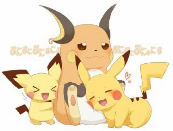 Pikachu clipart pokemon pichu / on / Find Raichu