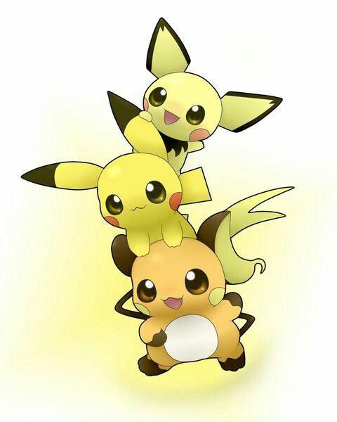 Pikachu clipart pokemon pichu Best Pichu raichu pikachu 25+