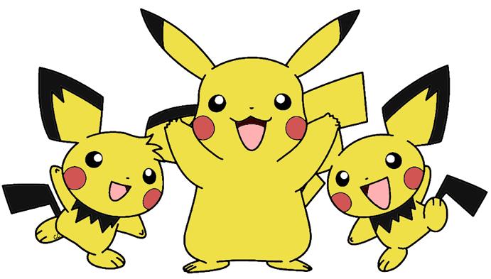 Pikachu clipart pokemon pichu Images Pikachu Clip Cartoon Art