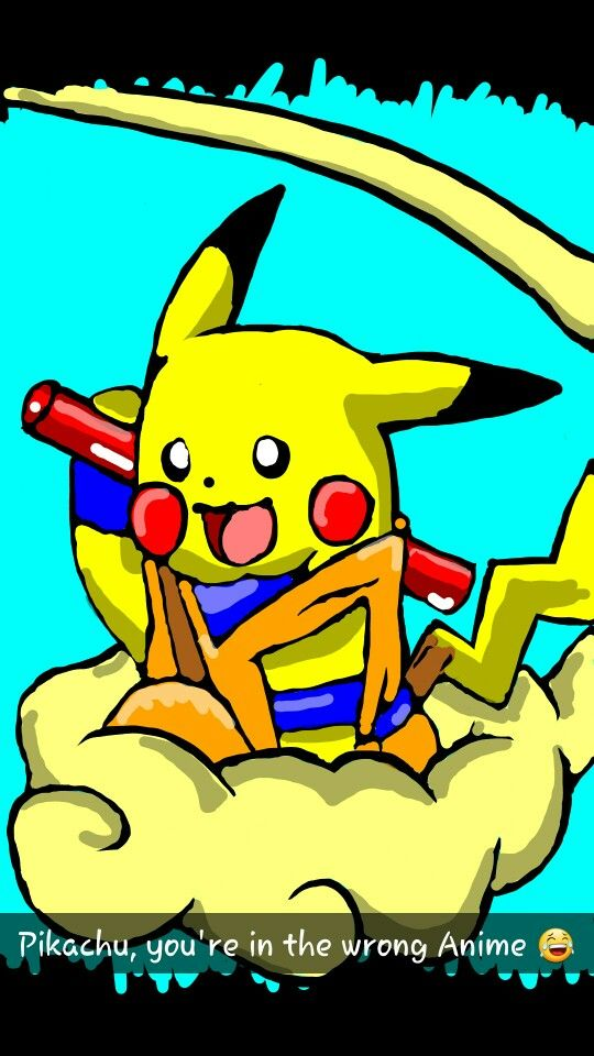 Pikachu clipart snapchat Best Nimbus images Pikachu Flying