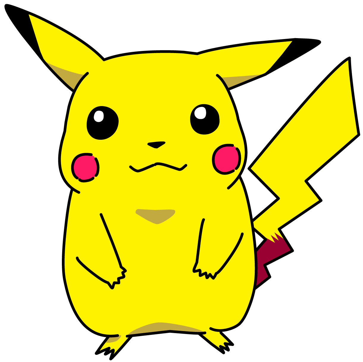 Pikachu clipart transparent PNG background PNG with image