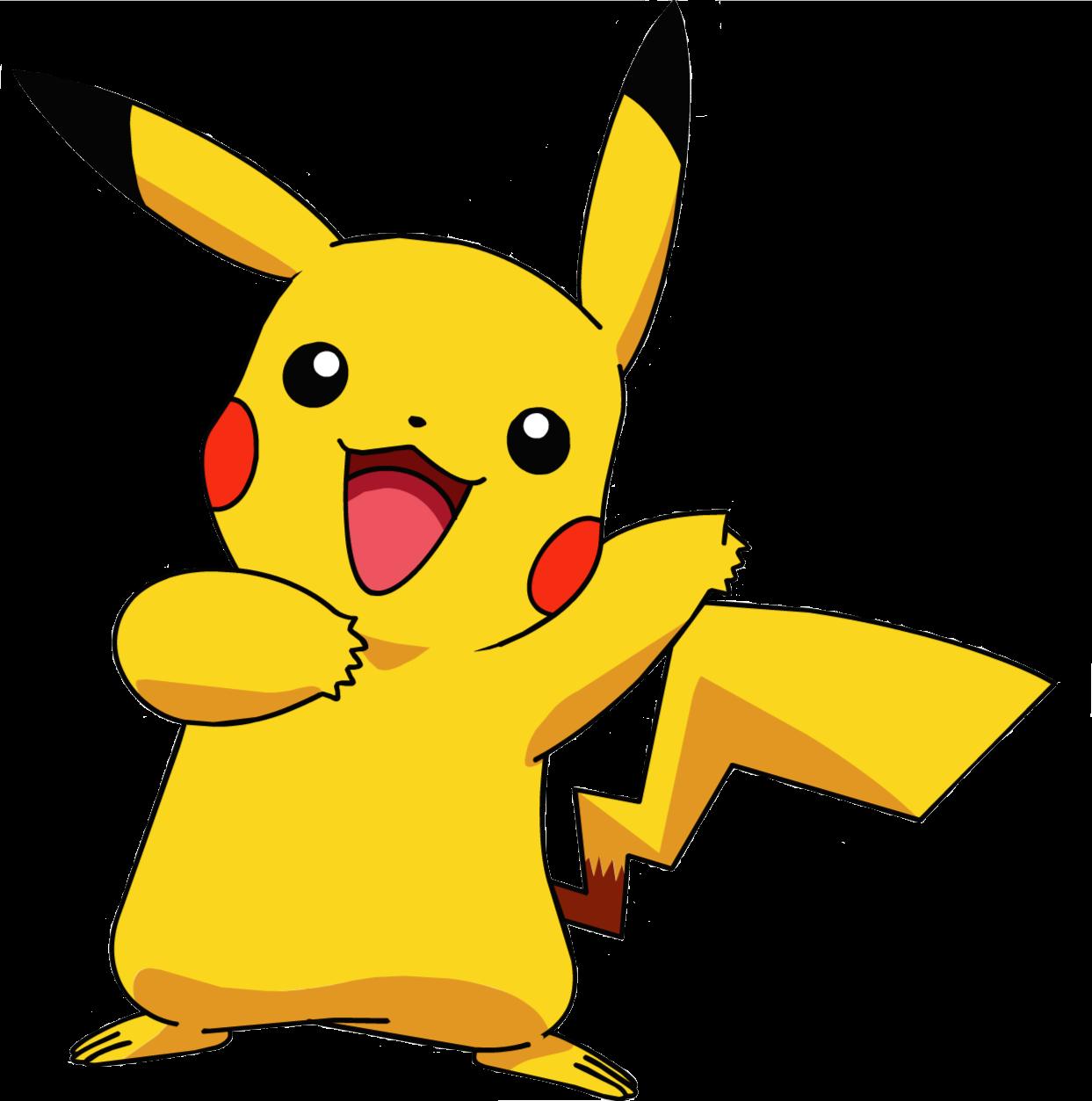 Pikachu clipart transparent Transparent Pikachu Transparent Free and