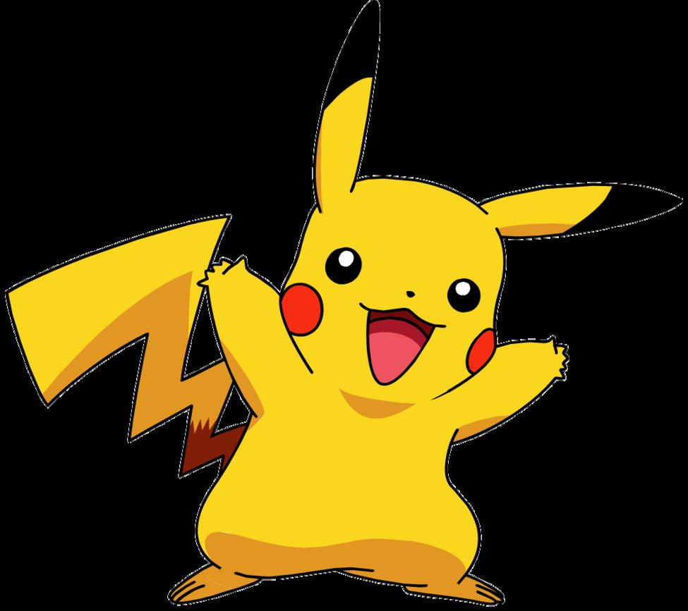Pikachu clipart transparent Clipart Pokemon clip transparent WikiClipArt