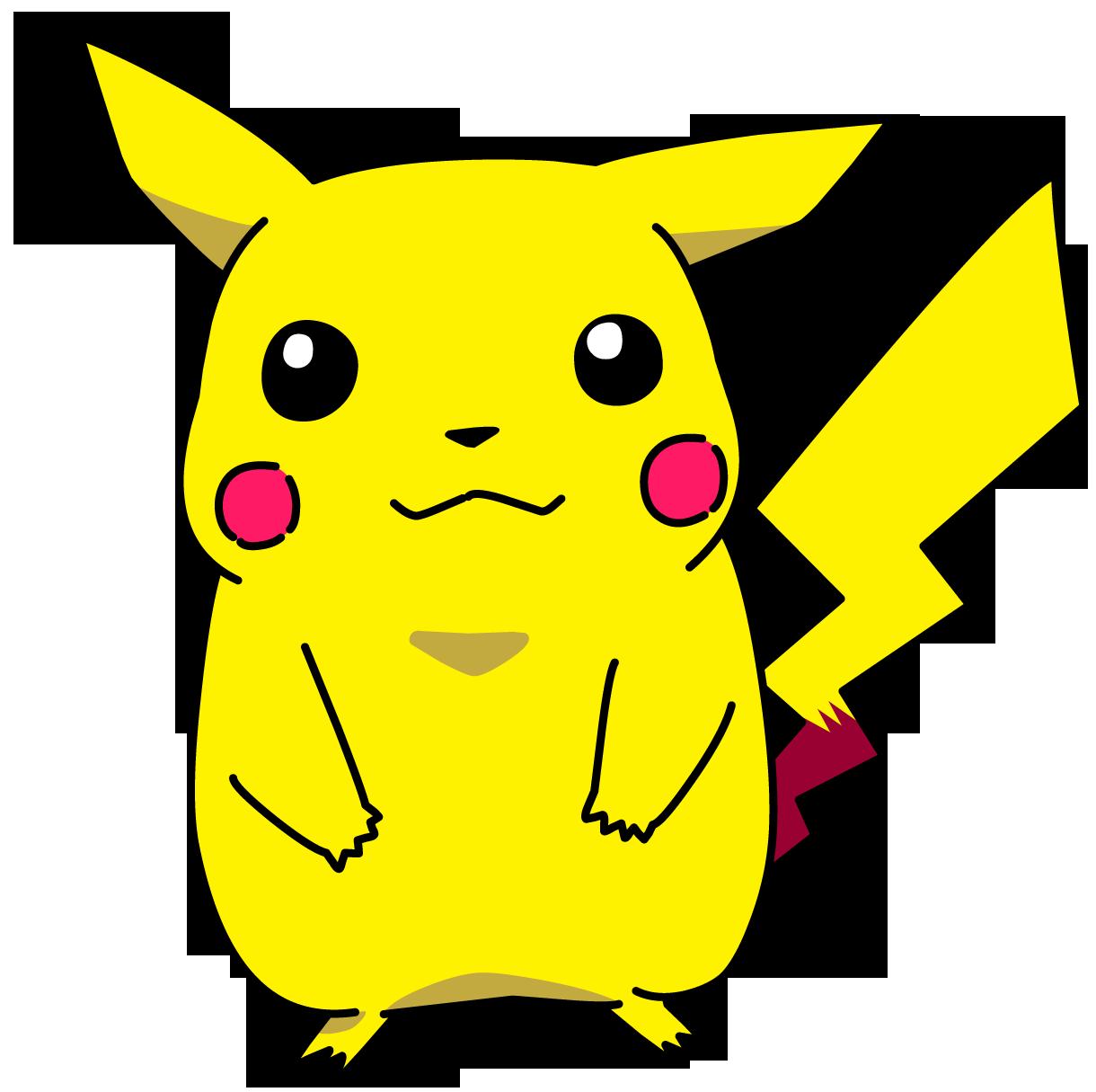 Pikachu clipart transparent background Pikachu transparent background PNG with