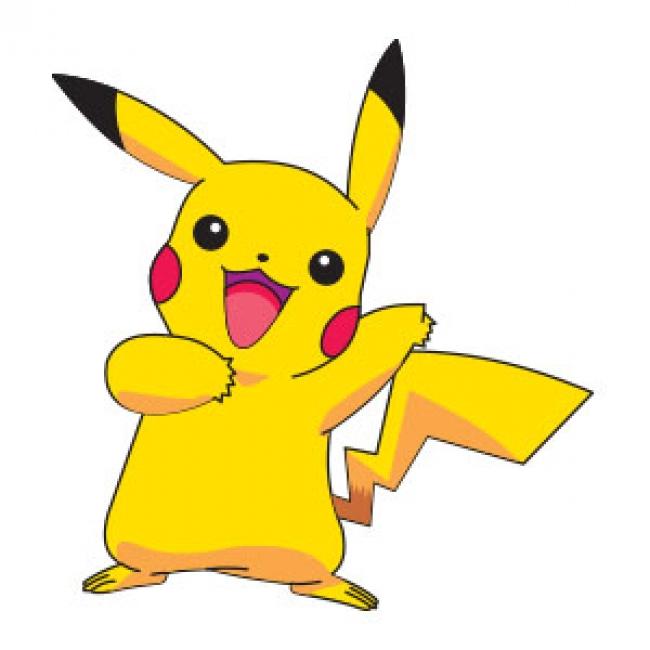 Pikachu clipart vector  Free Vector Pokémon Pikachu