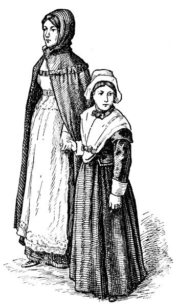 Pilgrim clipart colonial person #5