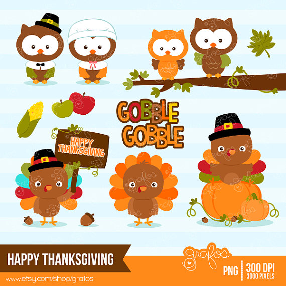 Pilgrim clipart cute happy thanksgiving turkey Happy photo#17 Cute clipart thanksgiving