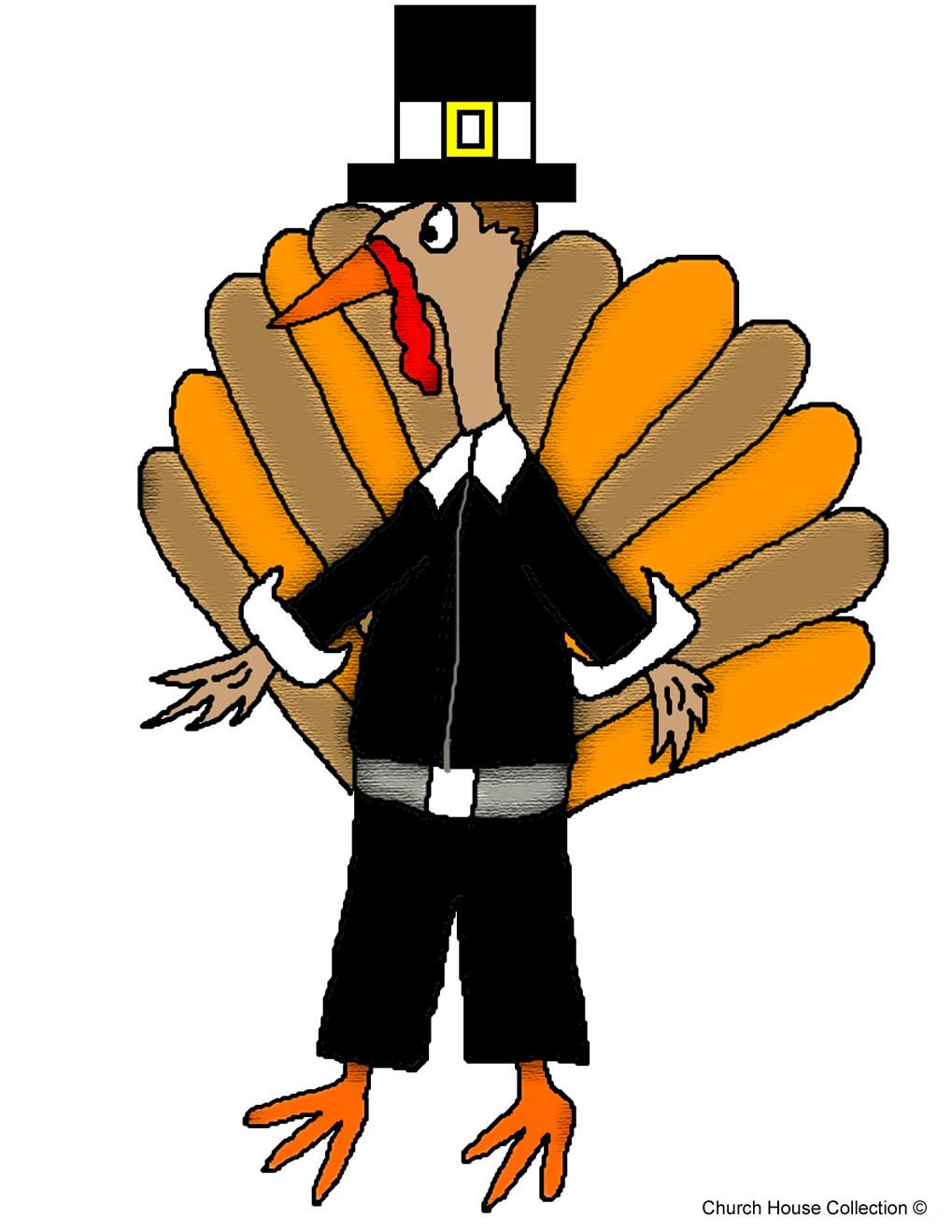 Pilgrim clipart cute happy thanksgiving turkey Clipart Pilgrim Free School Turkey