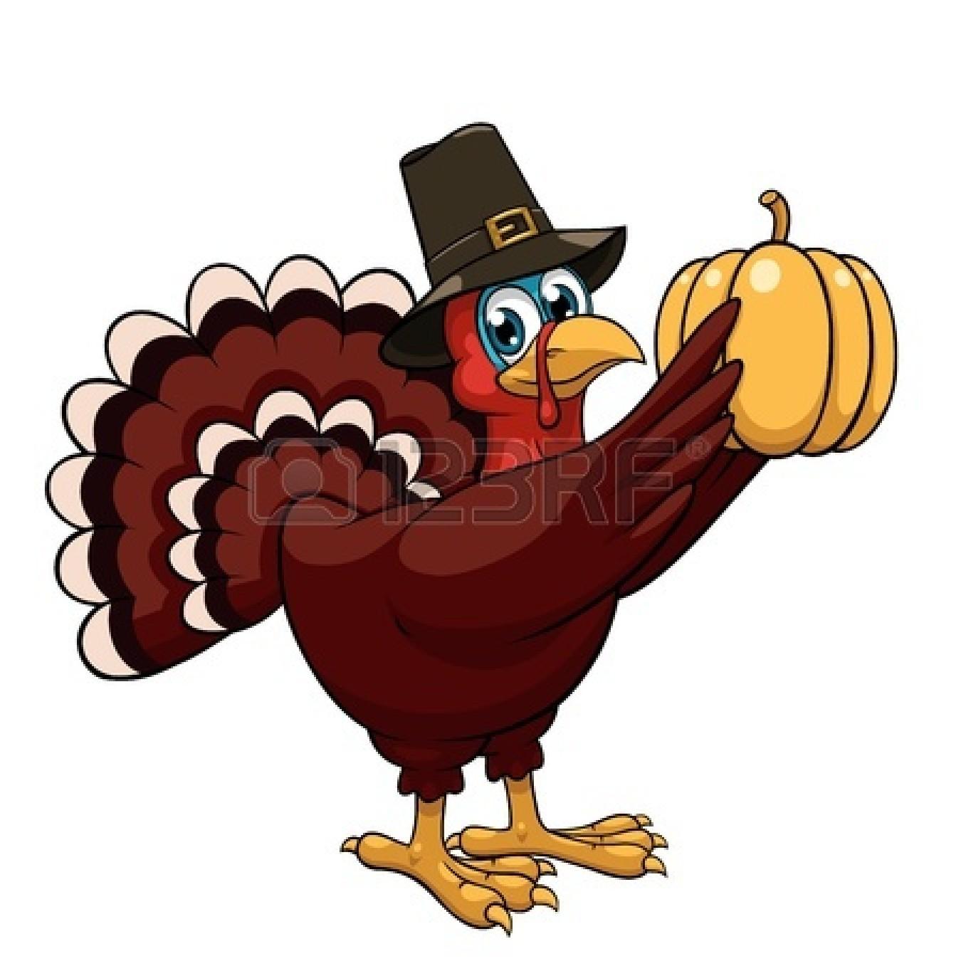 Pilgrim clipart cute happy thanksgiving turkey Pilgrim online Happy Black Turkey
