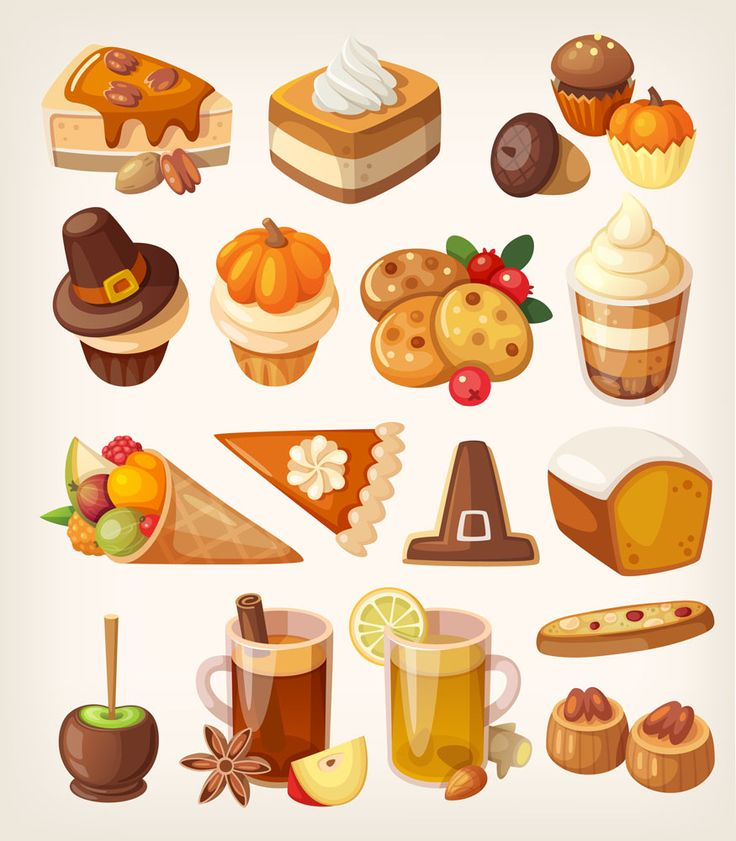 Pilgrim clipart food Pinterest Thanksgiving (875×1000) Desserts best