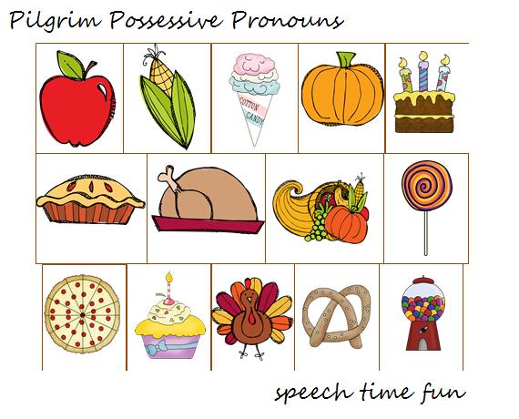 Pilgrim clipart food Possessive it possessive Then Have