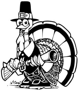 Pilgrim clipart funny #15