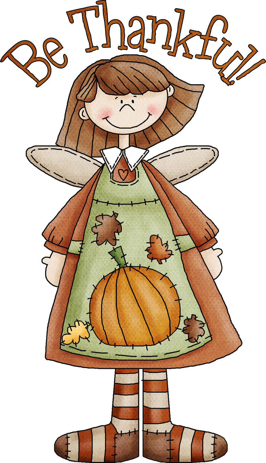 Cornucopia clipart give thanks With thankful my blessings Thanksgiving