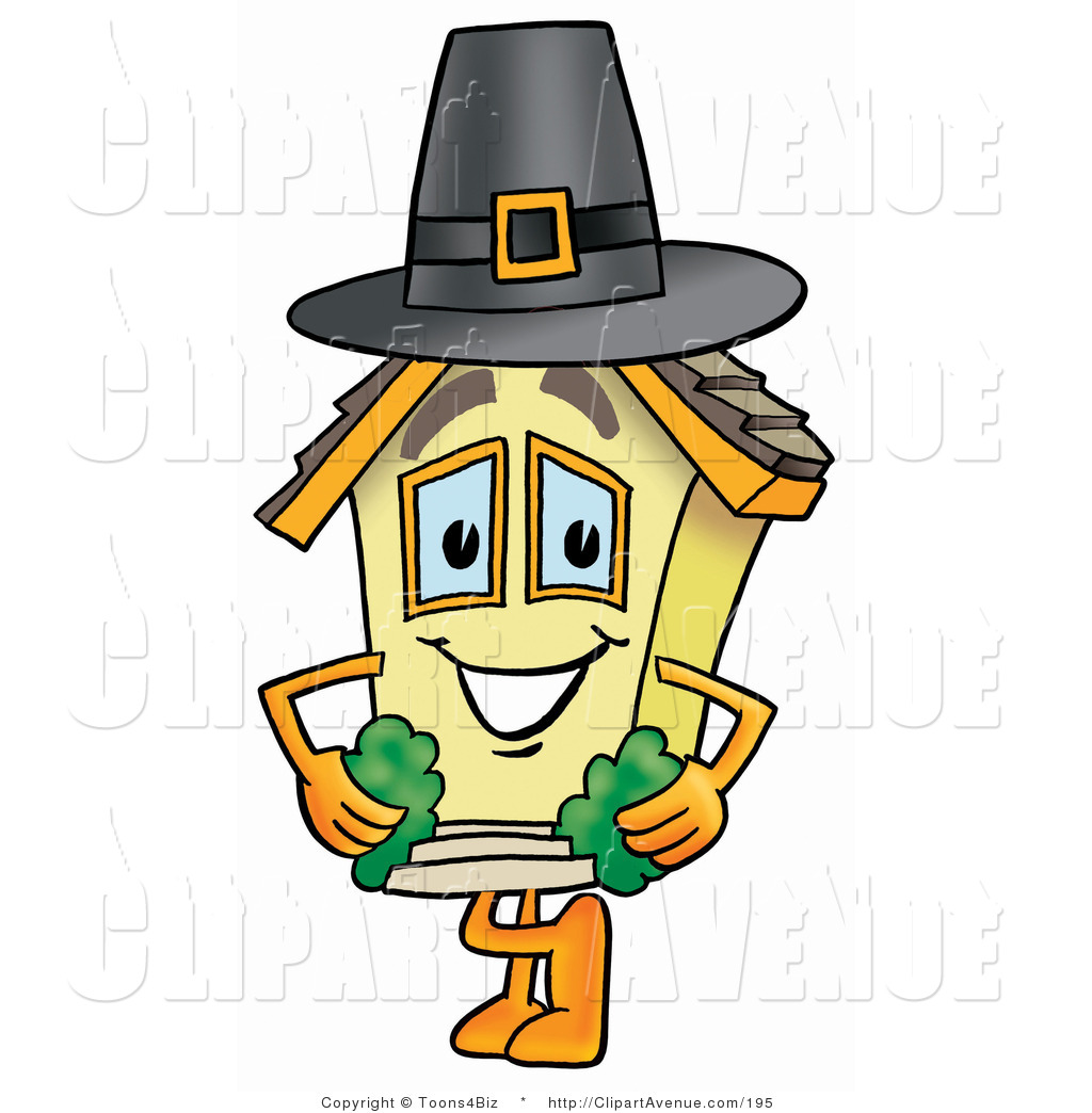 Pilgrim clipart homes #15