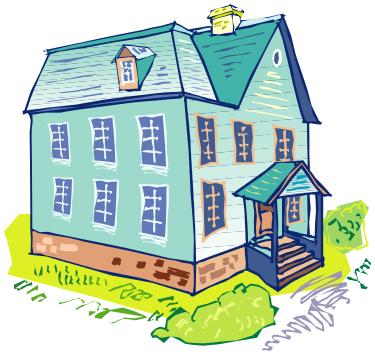Pilgrim clipart homes #13