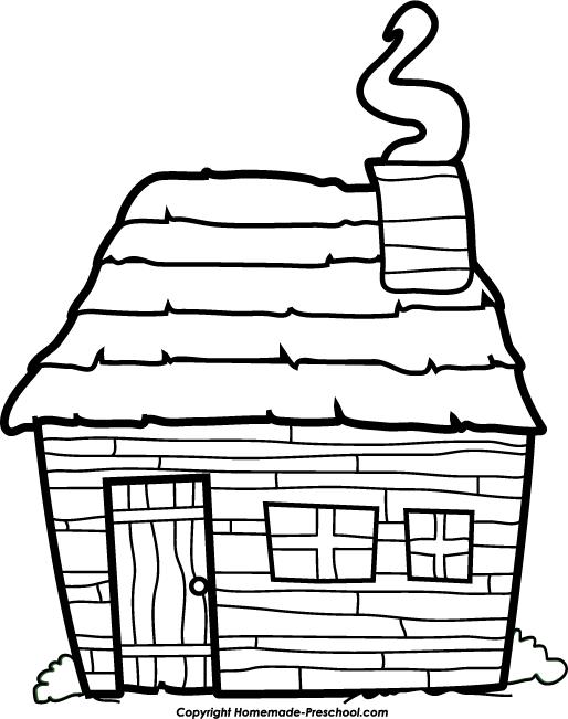Pilgrim clipart homes #9
