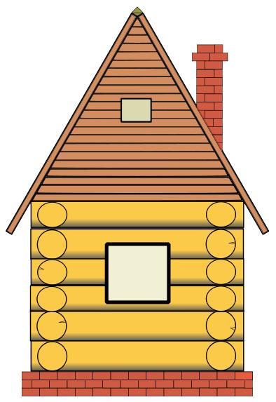 Pilgrim clipart homes #10