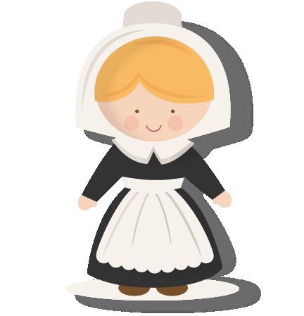 Pilgrim clipart kid #1
