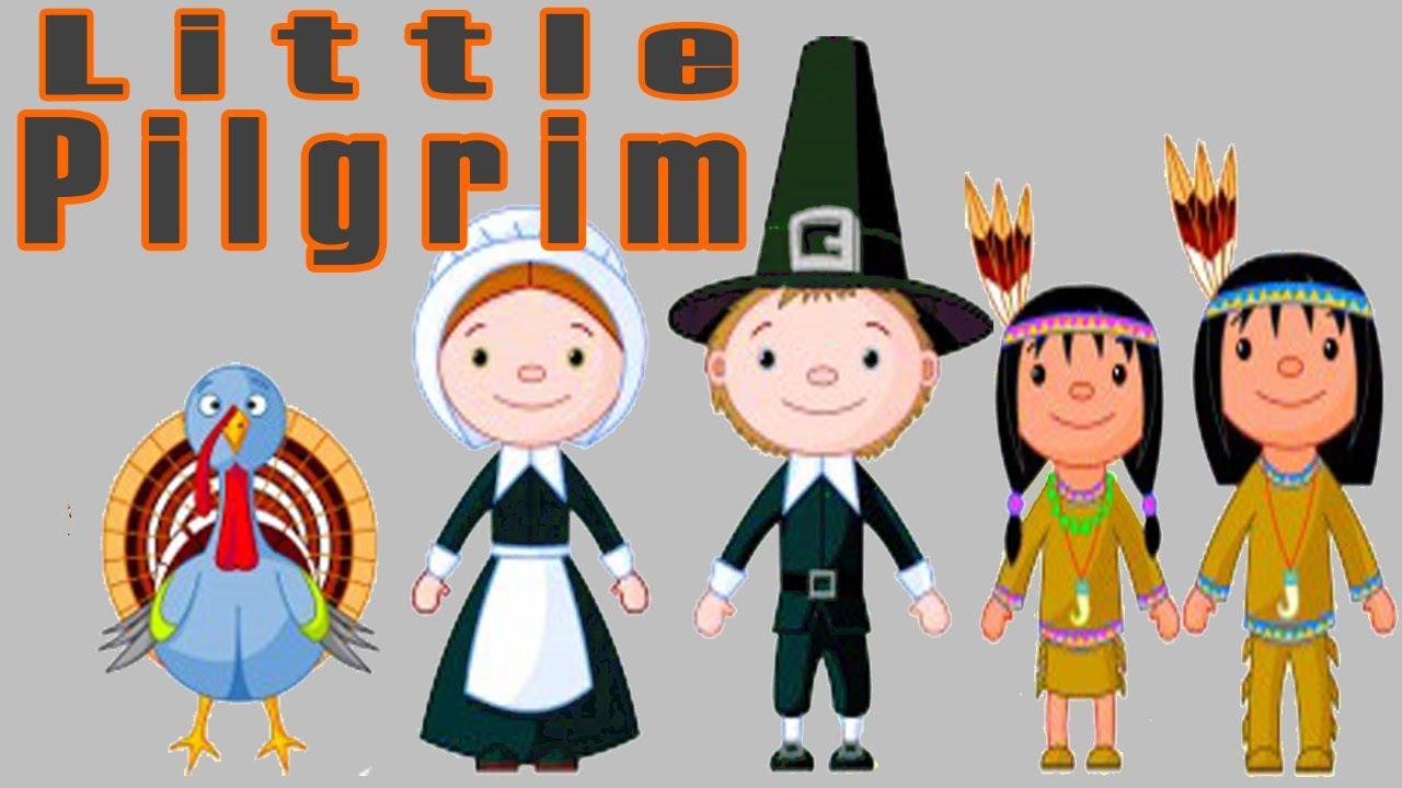 Pilgrim clipart little Learning The Pilgrim by Kids