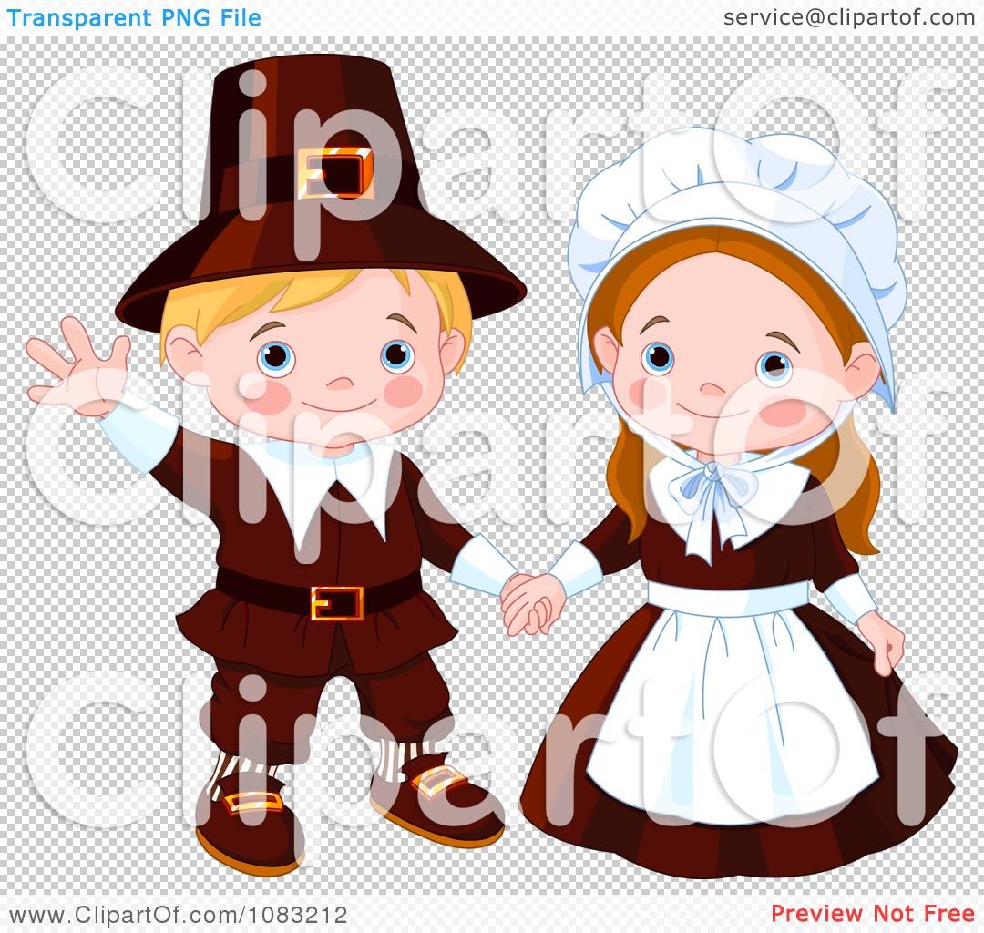 Pilgrim clipart pilgrimage Pilgrims pilgrims Thanksgiving png Royalty