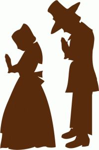 Pilgrim clipart silhouette On Store! I shape this