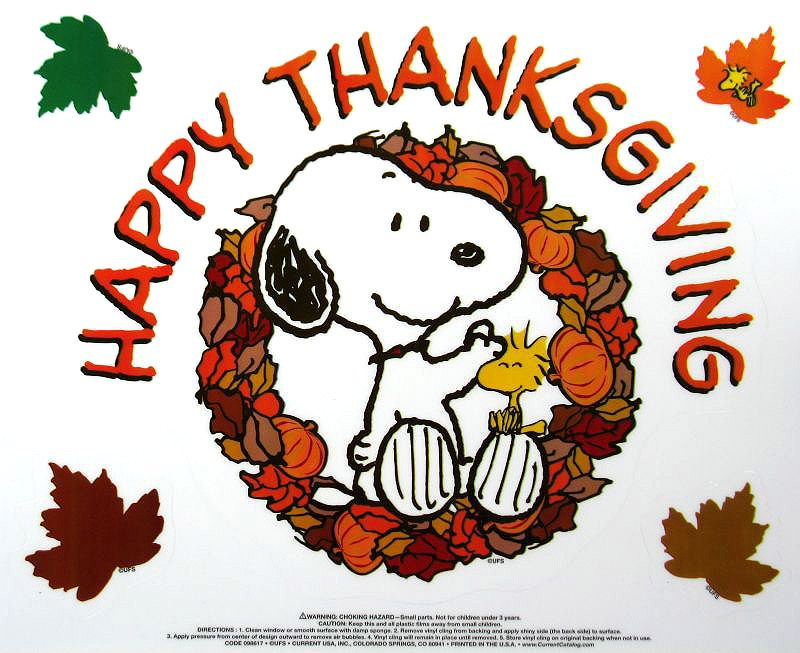 Peanut clipart happy thanksgiving Thanksgiving Snoopy (06) Wallpaper Snoopy